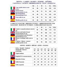 CAMICE AMALFI CON GREMBIULINO RIGATO BORDEAUX