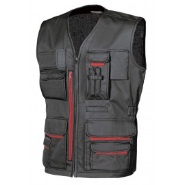GILET FUN BLACK CARBON