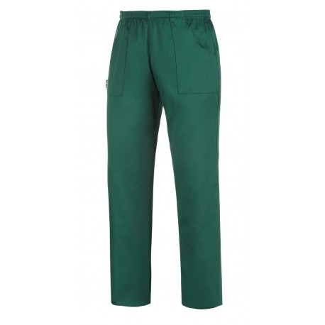 PANTALONE COULISSE TASCA A TOPPA BOTTLE GREEN