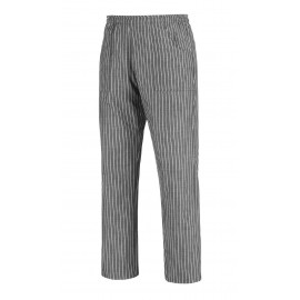PANTALONE COULISSE TASCA A TOPPA NEW GREY STRIPE
