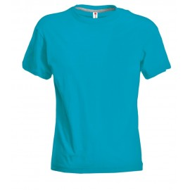 T-SHIRT SUNSET LADY BLU ATOLLO