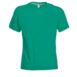 T-SHIRT SUNSET LADY EMERALD GREEN
