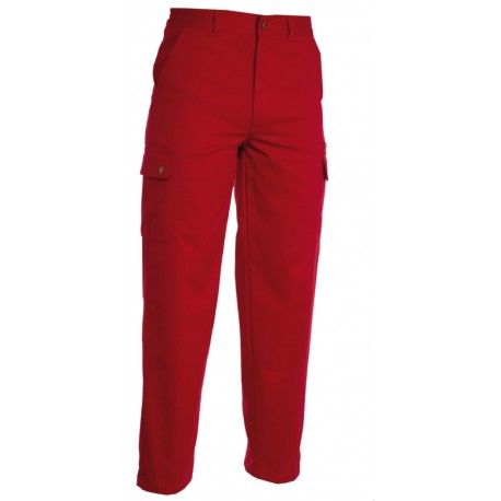 PANTALONE FOREST ROSSO