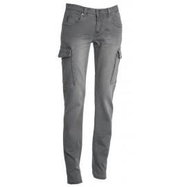 JEANS HUMMER LADY STEEL GREY