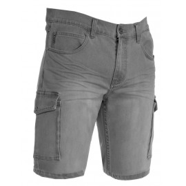 JEEP BERMUDA UOMO JEANS STEEL GREY