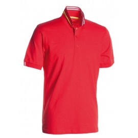 POLO NAUTIC RED PASSION YELLOW