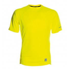 RUNNING T-SHIRT YELLOW FLUO