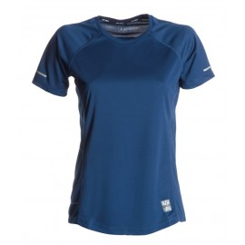RUNNING LADY T-SHIRT BLU NAVY