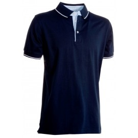 POLO CAMBRIDGE IN JERSEY BLU NAVY