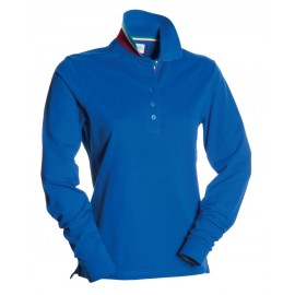 POLO LONG NATION LADY BLU ROYAL ITALIA