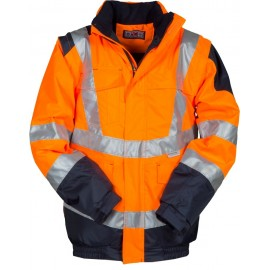 GIUBBINO INTERSTATE ARANCIO FLUO