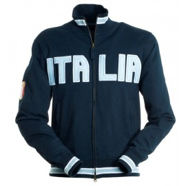FELPA SPORT FULL ZIP BLU NAVY