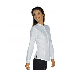 CAMICIA HOLLYWOOD DONNA BIANCA MANICA LUNGA