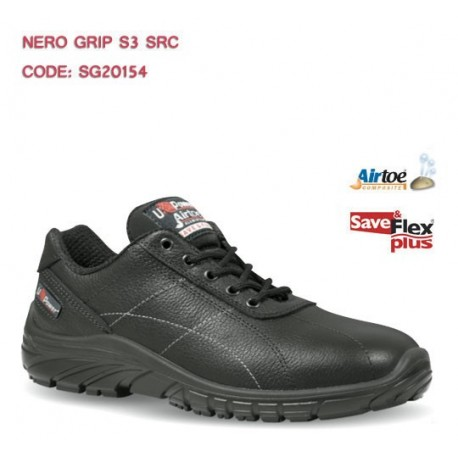 SCARPA BASSA NERO GRIP S3 SRC