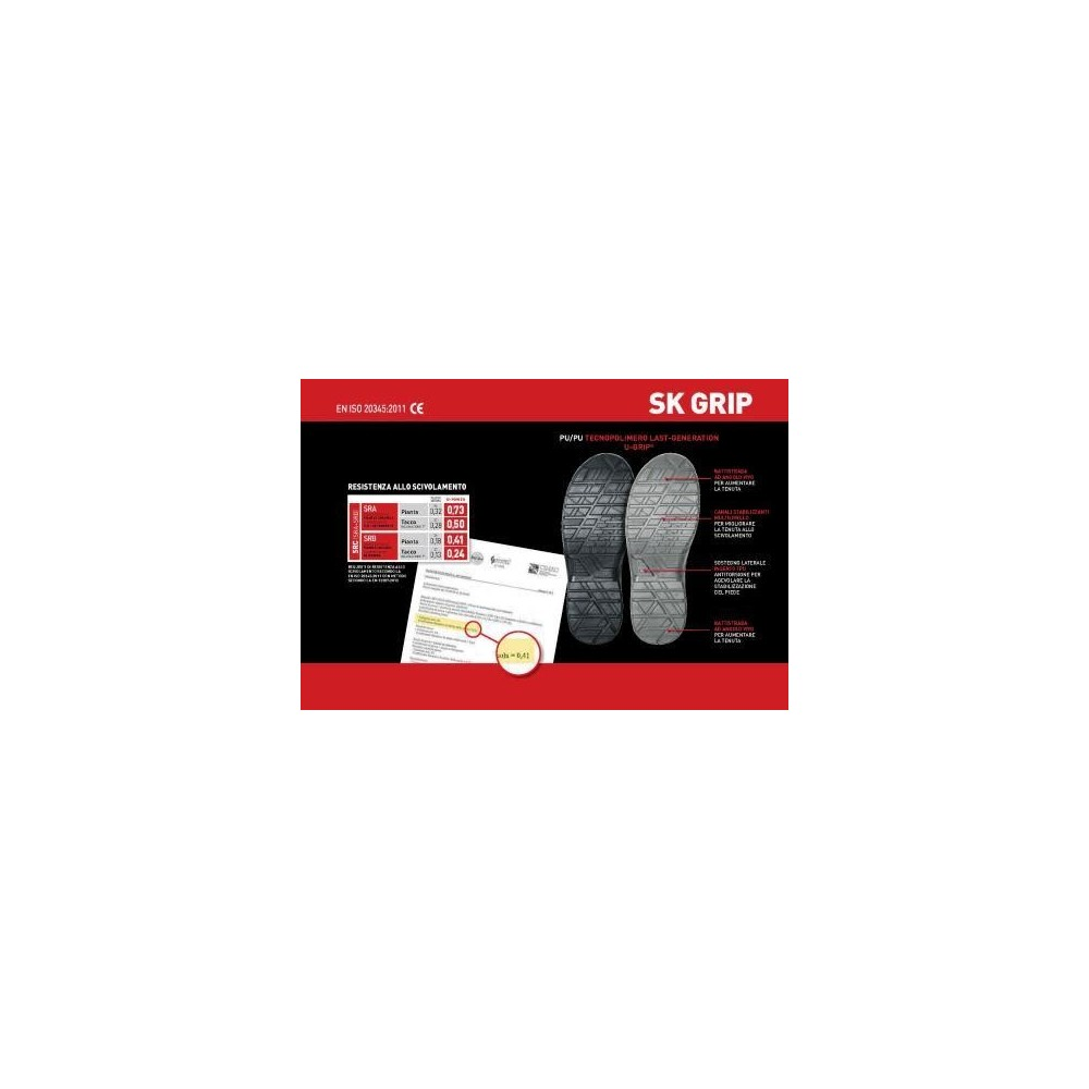SCARPA BASSA ELECTRO GRIP S3 EPA SRC