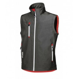 GILET CLIMB SOFT SHELL BLACK CARBON