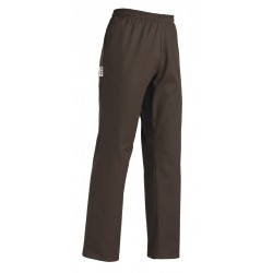 PANTALONE CUOCO COULISSE BROWN