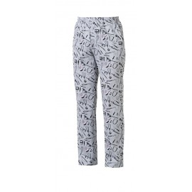 PANTALONE CUOCO COULISSE CHEFWEAR RA 202101