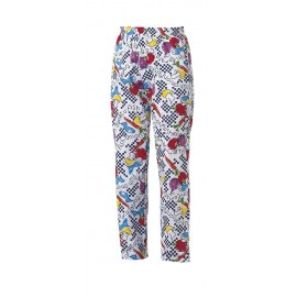 PANTALONE CUOCO COULISSE FANTASY RA 202102