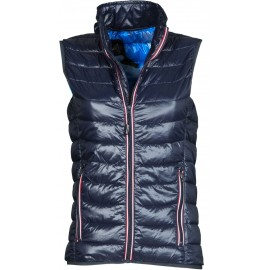 GILET REPLY LADY BLU NAVY/MIMETICO
