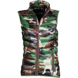 GILET REPLY LADY MIMETICO/NERO