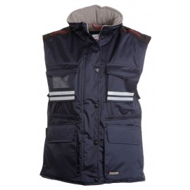 GILET FLIGHT LADY BLU NAVY