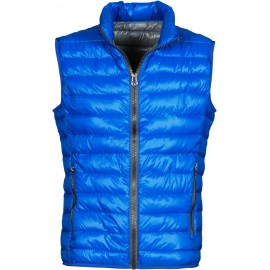 GILET UOMO CASUAL BLU ROYAL