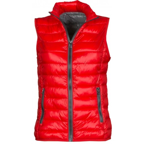 GILET DONNA CASUAL LADY ROSSO