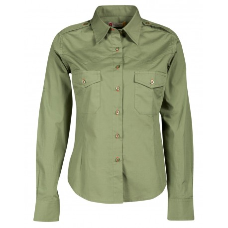 CAMICIA TROPHY LADY VERDE MILITARE