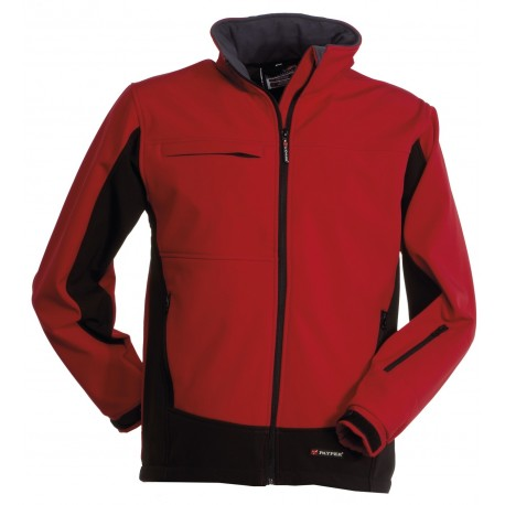 GIACCA STORM SOFT SHELL ROSSO