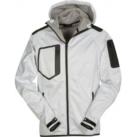 GIACCA SOFT SHELL EXTREME BIANCO