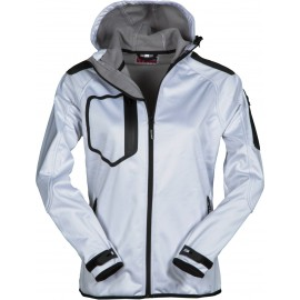 GIACCA SOFT SHELL EXTREME LADY BIANCO