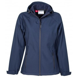 GIACCA SOFT SHELL GALE LADY BLU NAVY