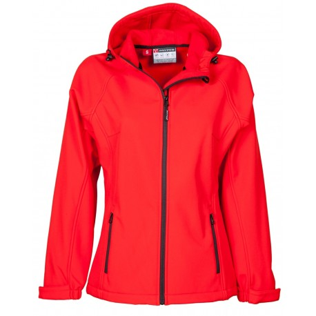 GIACCA SOFT SHELL GALE LADY ROSSO