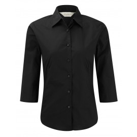CAMICIA DONNA SLIM MAN 3/4 FITTED