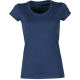 T-SHIRT DONNA PARTY LADY DENIM BLU