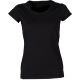 T-SHIRT DONNA PARTY LADY NERO