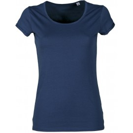 T-SHIRT YOUNG LADY DENIM BLU