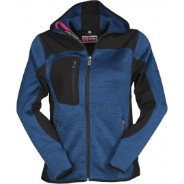 GIACCA SOFT SHELL TRIP LADY BLU DENIM MELANGE