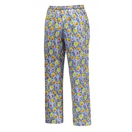 PANTALONE COULISSE TASCA A TOPPA GESSATO