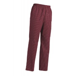 PANTALONE CUOCO COULISSE WINE