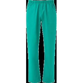 PANTALONE UNISEX C/ELASTICO E COULISSE verde chirugia