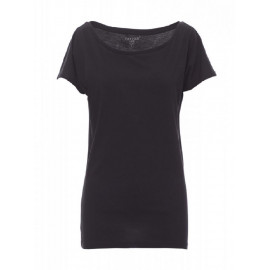 T.SHIRT DONNA BEVERLY NERO