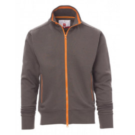 FELPA SYDNEY FULL ZIP SMOKE