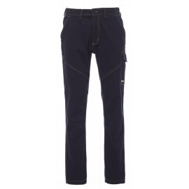 PANTALONE TECNICO WORKER STRETCH BLU NAVY