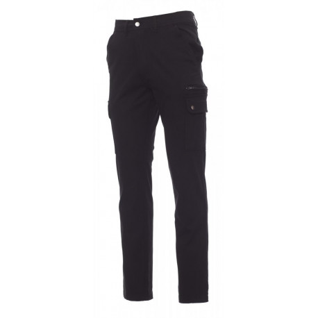 PANTALONE FOREST STRETCH NERO