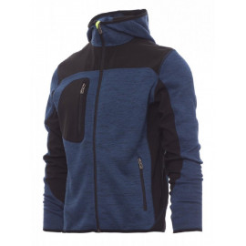 GIACCA SOFT SHELL TRIP BLU DENIM MELANGE