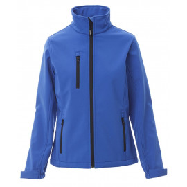 GIACCA DUBLIN LADY SOFT SHELL BLU ROYAL