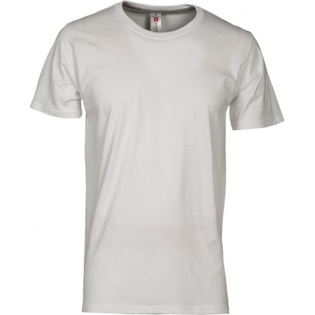 T-SHIRT SUNSET BIANCO