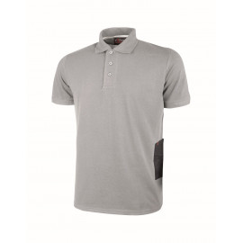 POLO U POWER GAP GREY SILVER